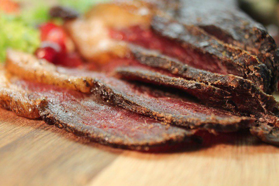 dehydrated meat products, salted dried meat