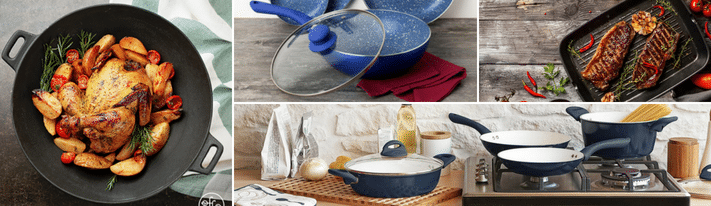 curtis stone cookware reviews, dura-pan nonstick, curtis stone pots and pans