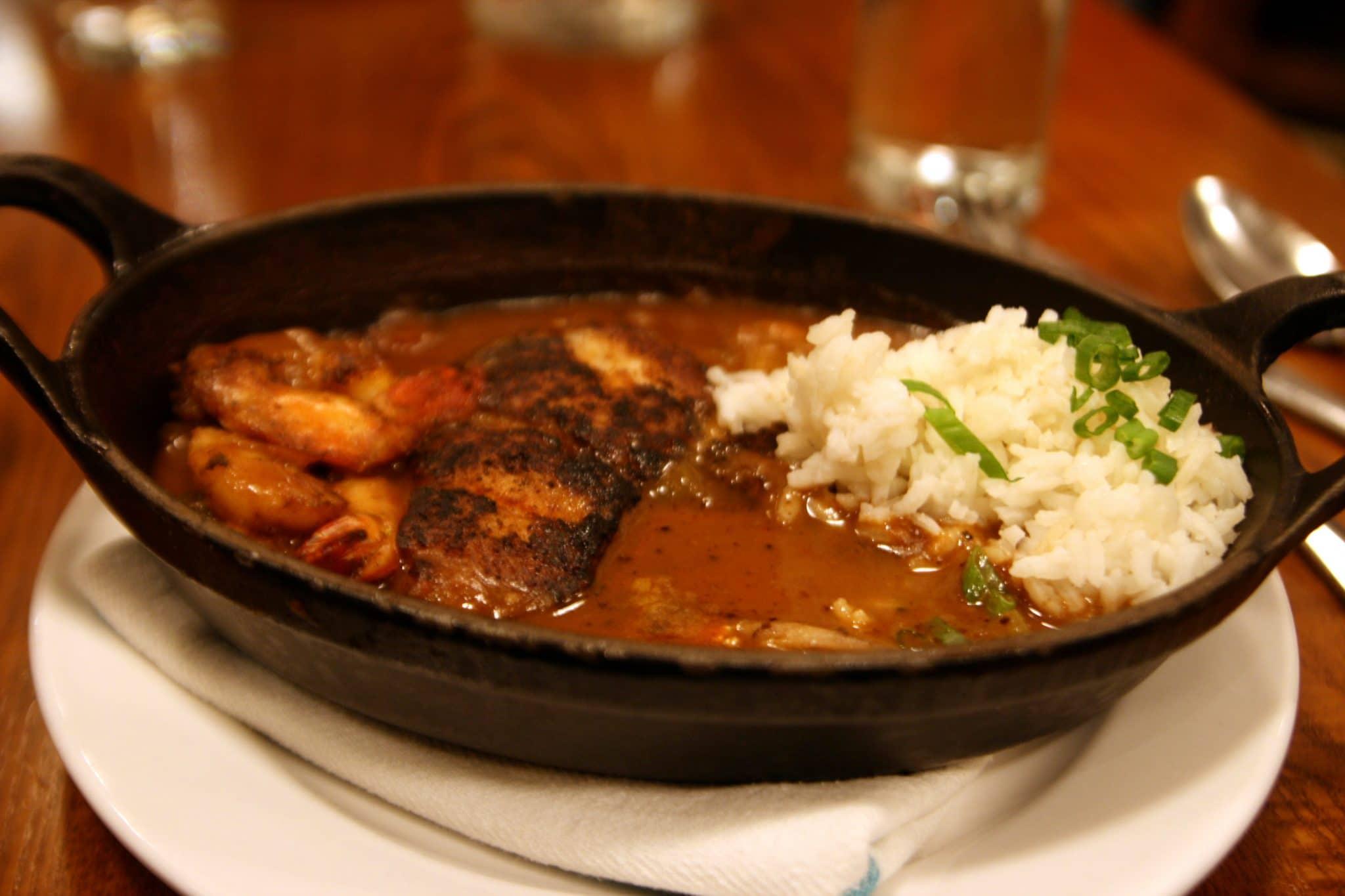 creole dish, spicy creole dish