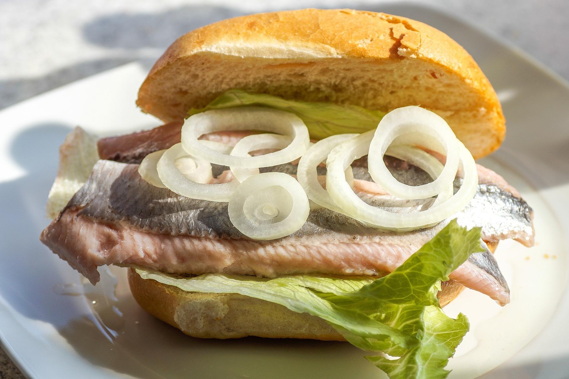 fish burger recipe, fish burger fast food