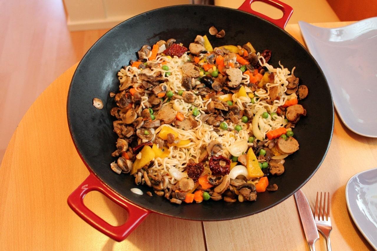non stick wok, best non stick wok