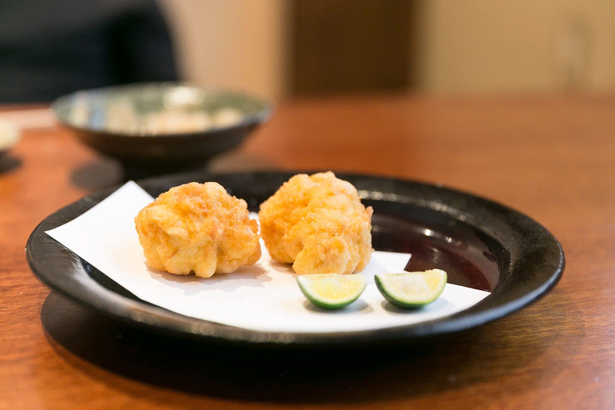 exotic seafood dishes, egg custard tarts