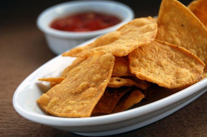 salsa chips, tortilla chips sauce