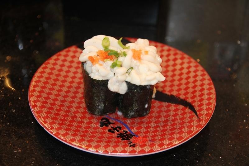 exotic sushi, strange sushi