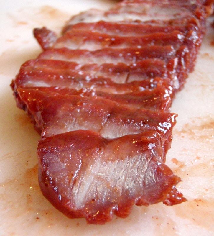 seasoned boneless pork, chinese bbq pork