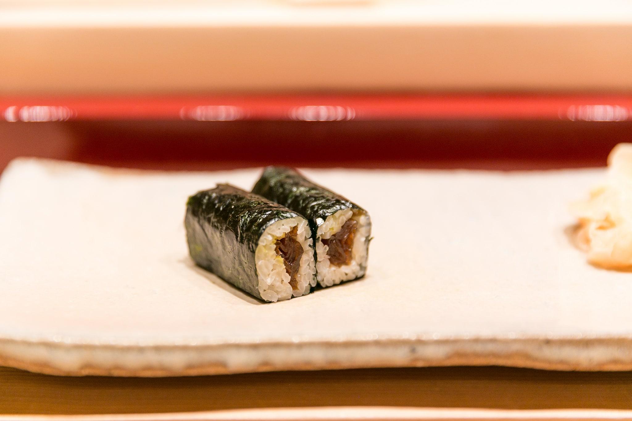 dried gourd sushi, maki sushi