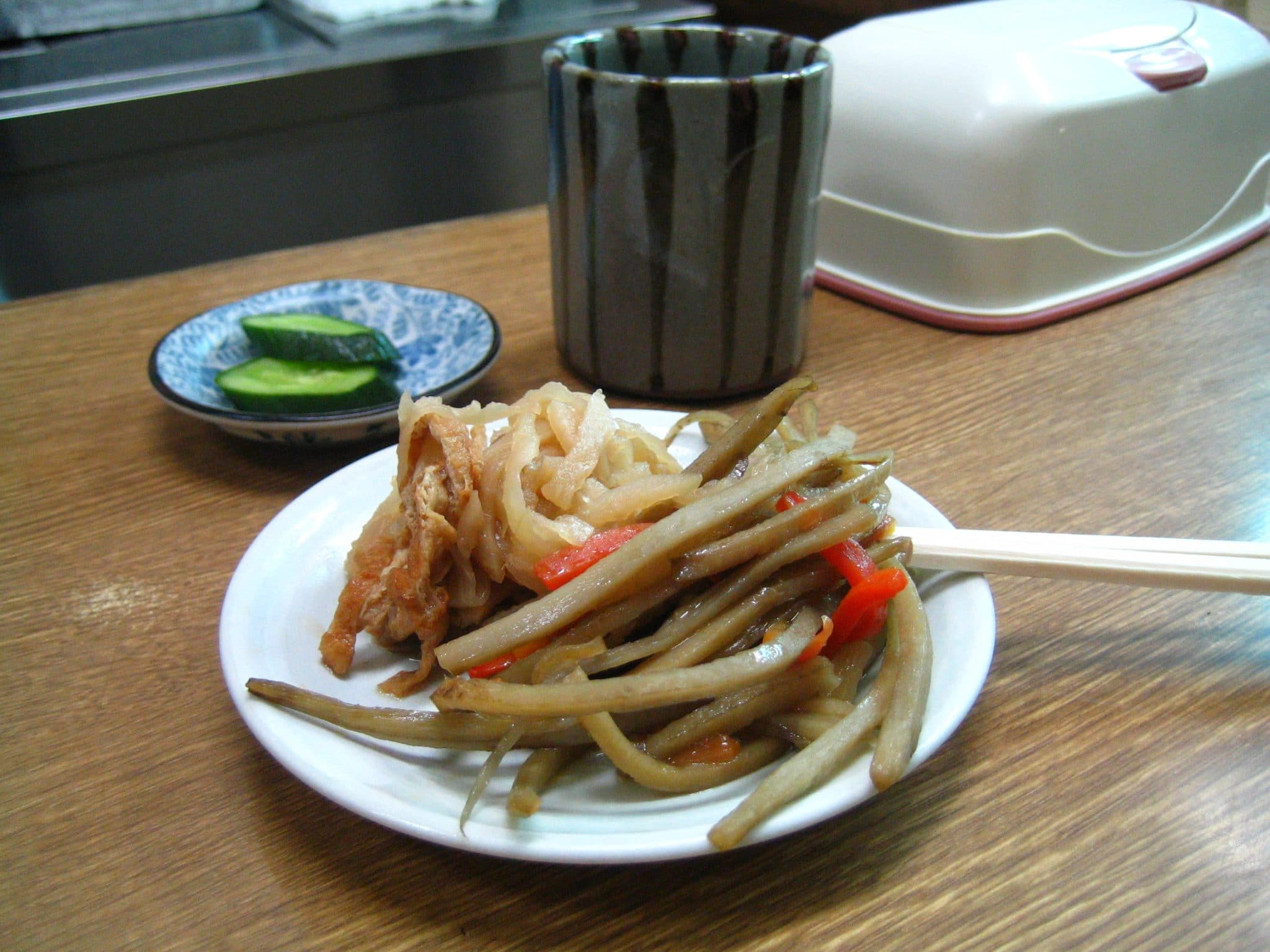 pickled burdock root, pickled burdock root recipe
