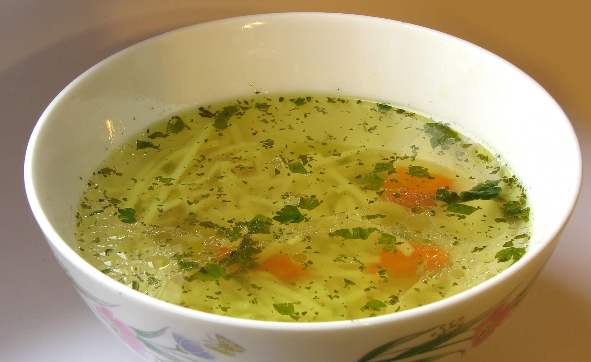 meat broth recipe, substitute chicken broth