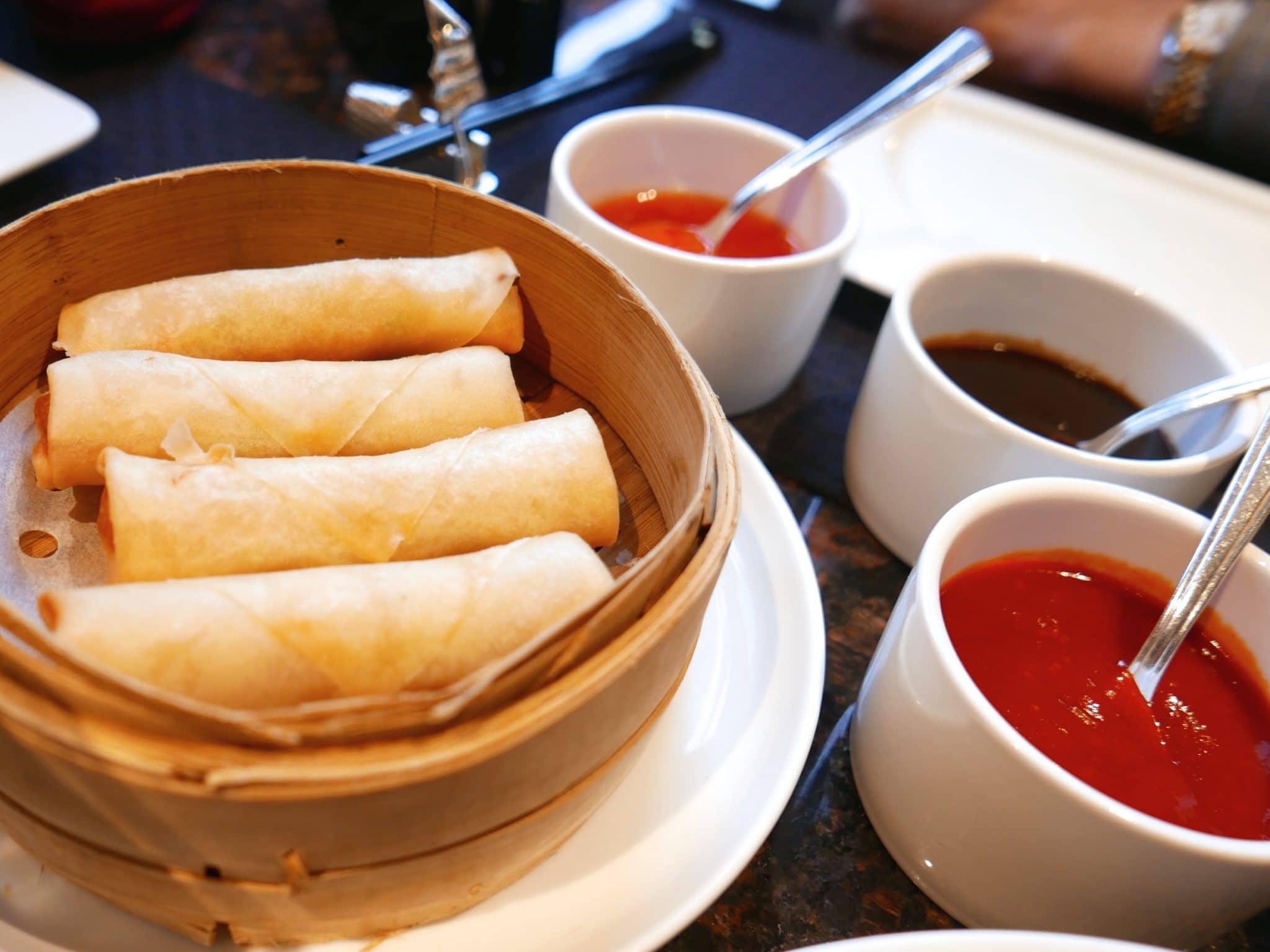 oriental wrap, omelette wrap