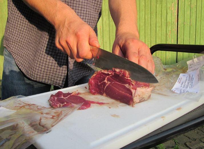 meat cutter, butcher meat cutter