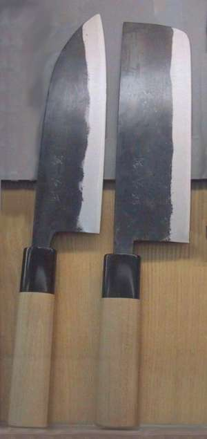 what is santoku used for, flat blade