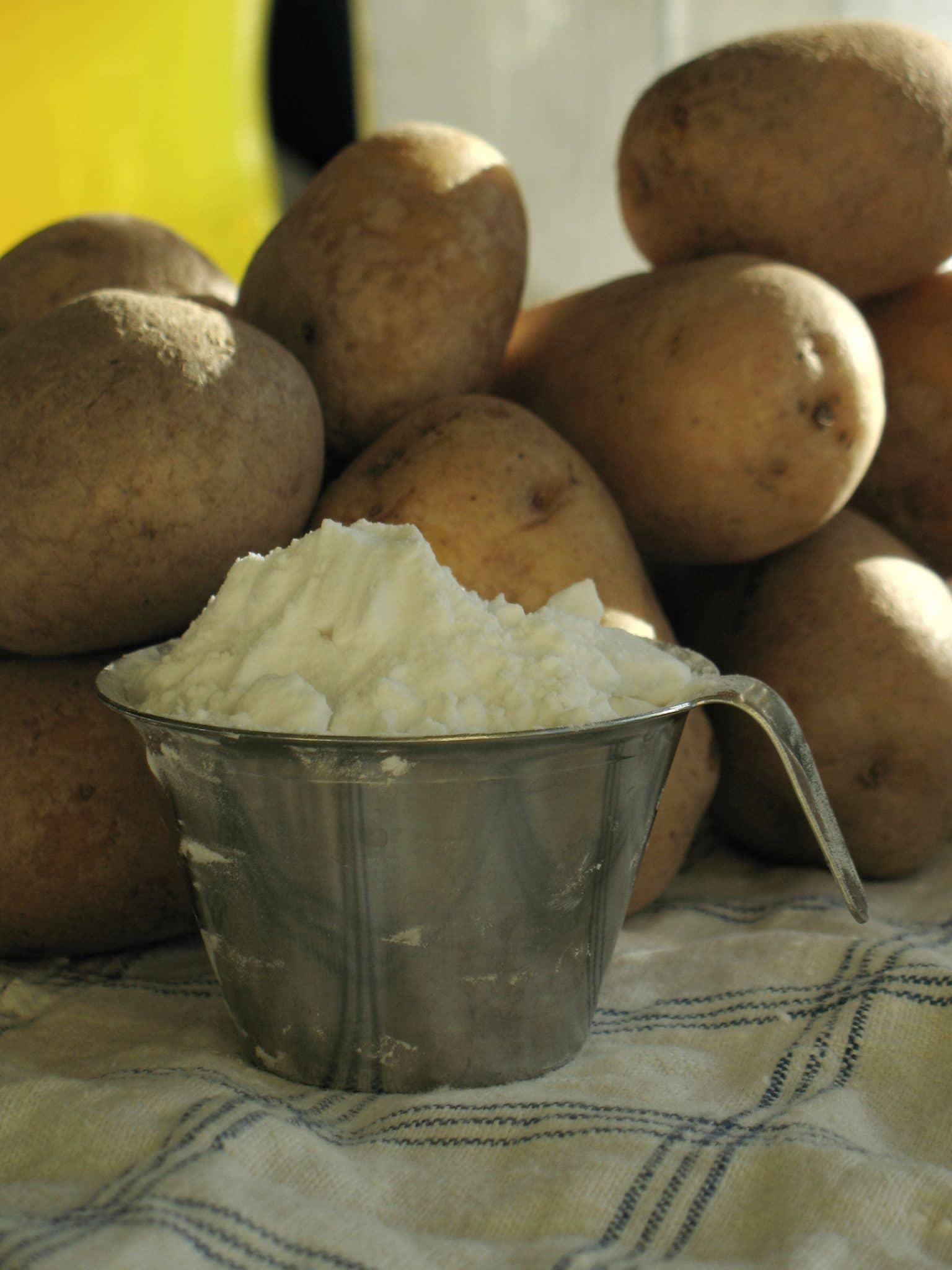 how to make potato starch, potato starch flour