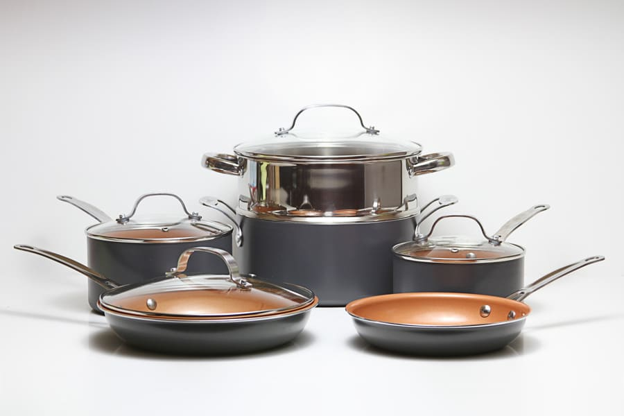 ᐅ Simply Ming Cookware Reviews A Red Ceramic Non Stick
