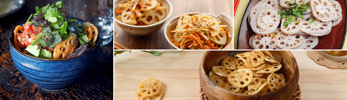 lotus root chips, how to cook lotus root, healthy chips