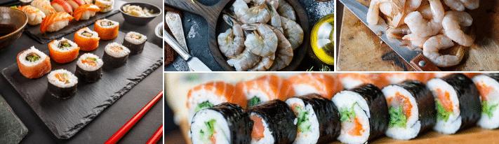 raw shrimp sushi, prawn sushi, can you eat raw shrimp