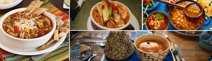mexican tortilla soup, chicken bouillon granules, chicken broth powder