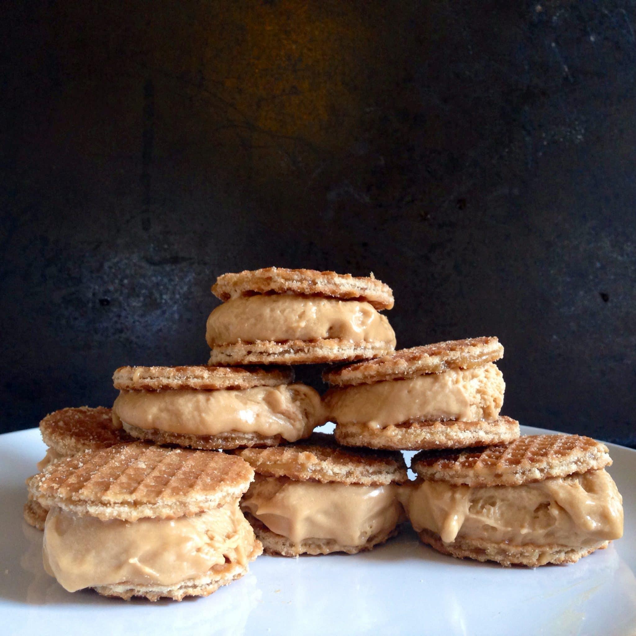waffle cookie, belgian waffle cookie
