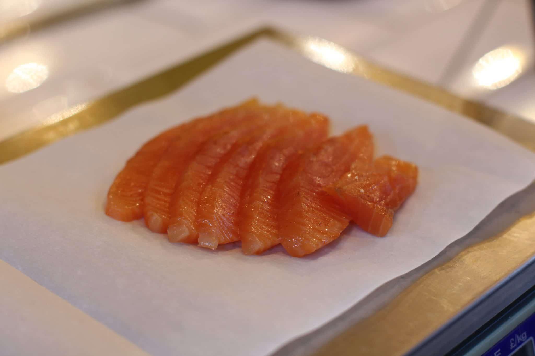 raw fish, fish sashimi