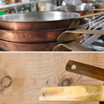 Learn how to properly season red copper pans