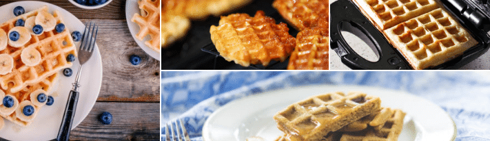A Delicious Waffle Recipe Without Using Baking Powder - On