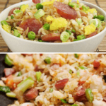 The Best Way To Make Chinese Sausage Fried Rice (腊肠炒饭).