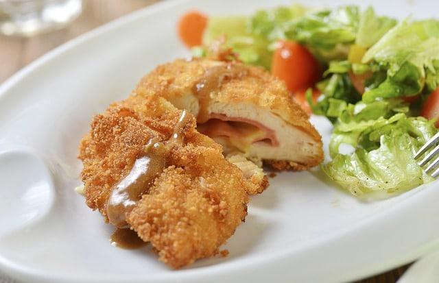 cutlet, chicken cutlet baked