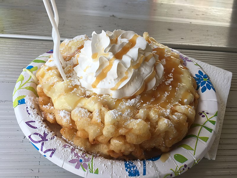 Funnel Cake Recipe Pancake Mix Your Ever Crunchy Fair