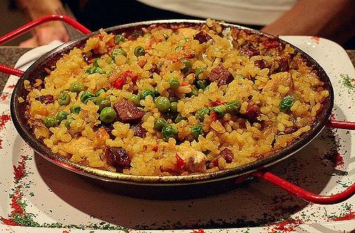 rice dish, pilaf