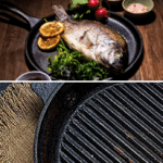 This is Not a Grill! Get the Best Round Cast Iron Griddle