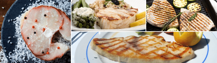 Protein Loaded Super Flaky Broiled Swordfish - On The Gas