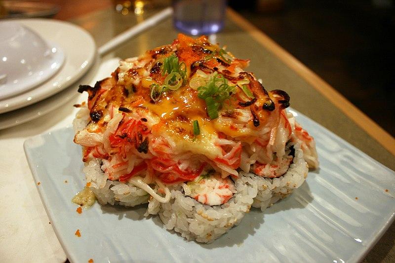 tempura roll, deep fried roll