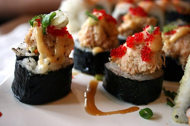 mayo sauce, best sushi