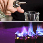 The Dragon Shot - A glass to set your buds in fire