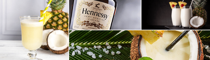 The Henny Colada Recipe And Procedure