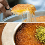 Kunafah • The Sweet Cheesy Dessert From Middle East