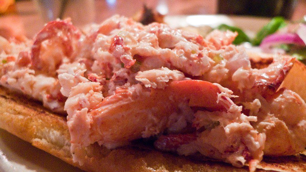 tinned crab, tinned shrimp