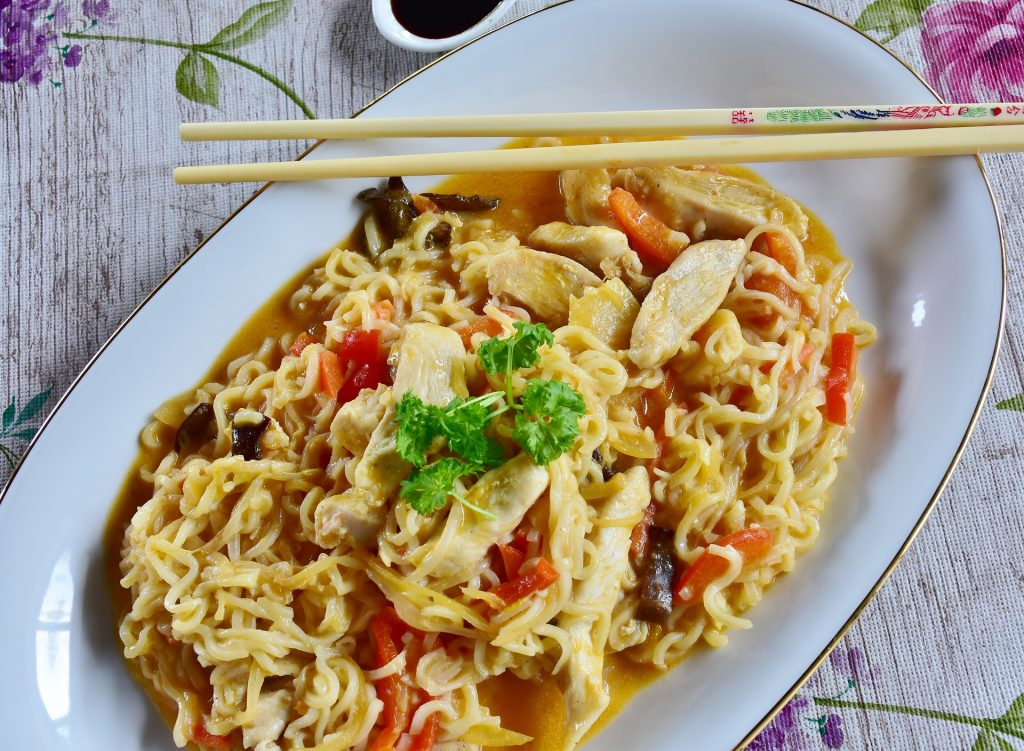 asian noodles stir fry, asian noodles chicken