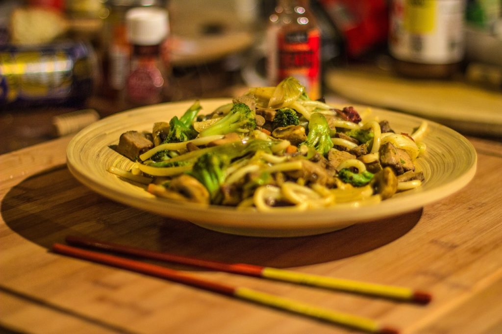 asian noodle dish, asian cuisine