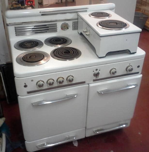 vintage cooktop, vintage range