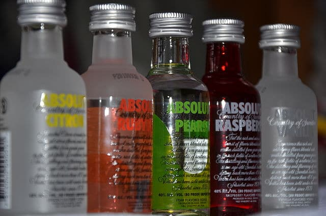 vodka flavour, absolut flavored vodka