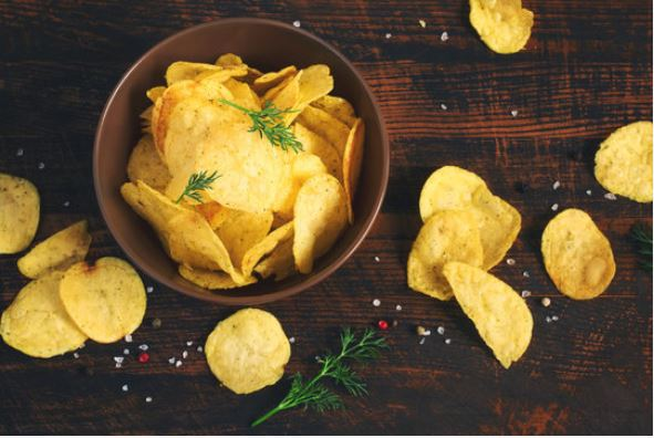 how to make potato chips in oven without oil