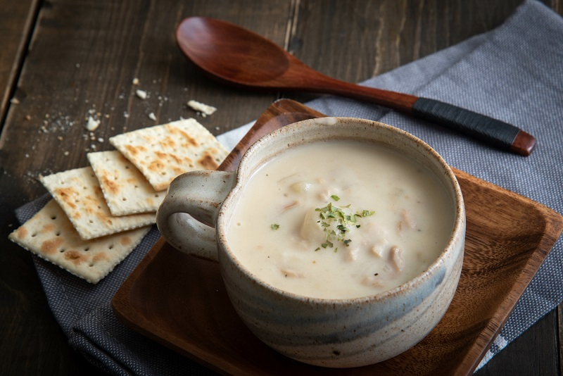 how to thicken clam chowder