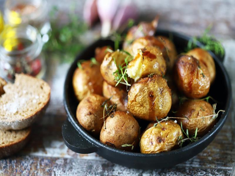 Reheat Baked Potato