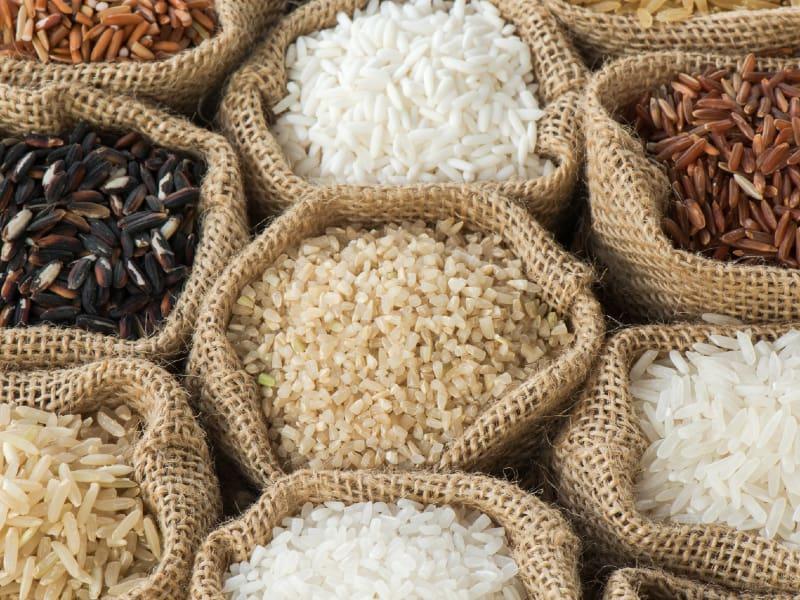 Store Rice