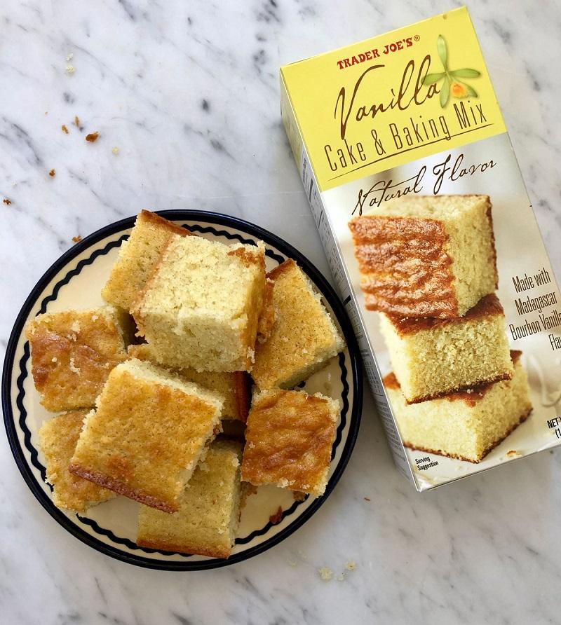trader joe's vanilla cake mix recipes