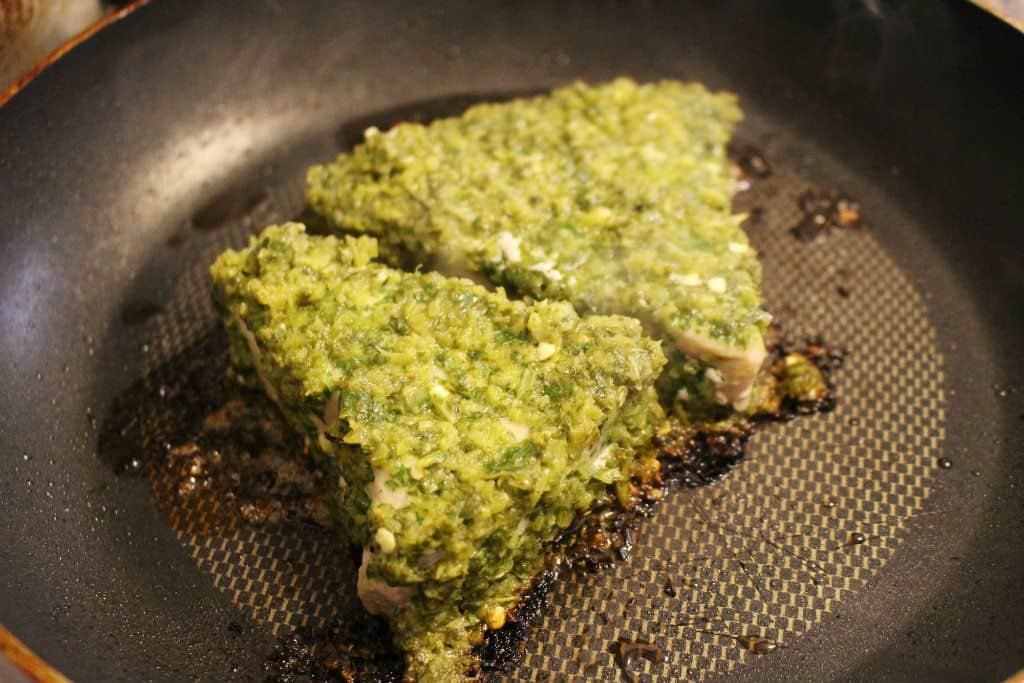 Keto Jalapeno Lime Tuna Steaks