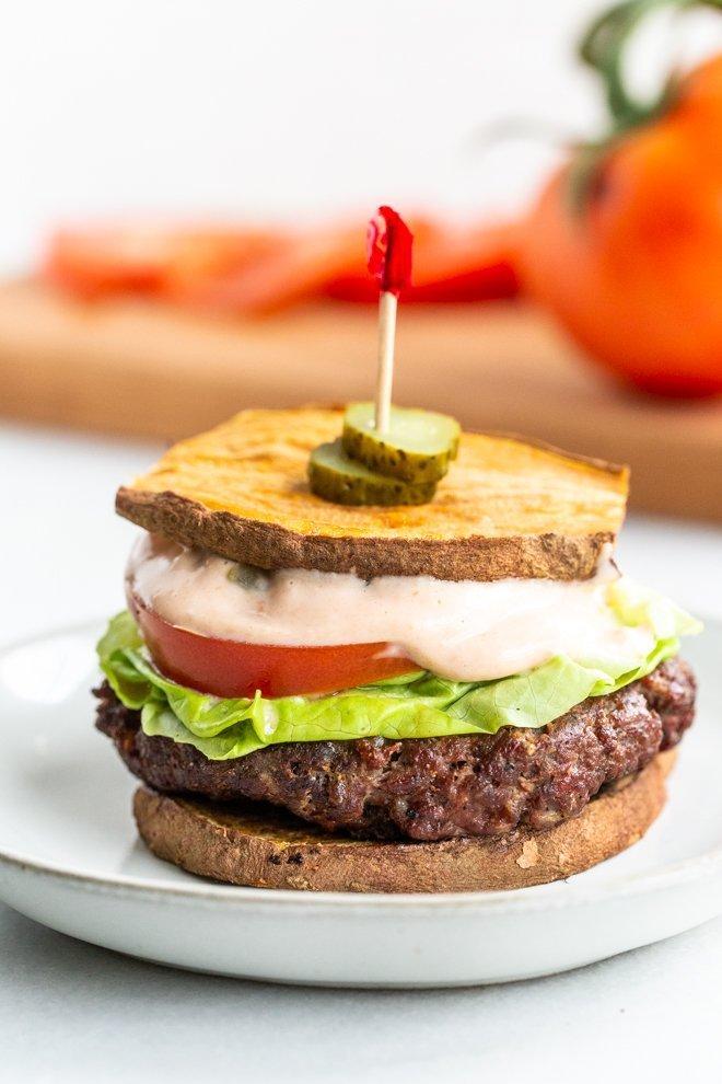 Whole30 Venison Burger with Special Sauce