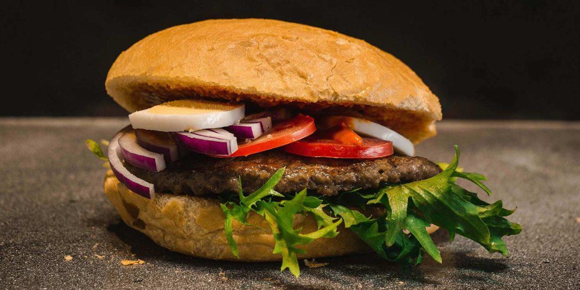 Blueberry Venison Burger