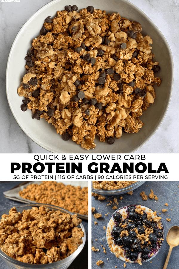 Cinnamon Vanilla Protein Granola